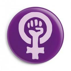 Insignia de logotipo feminista